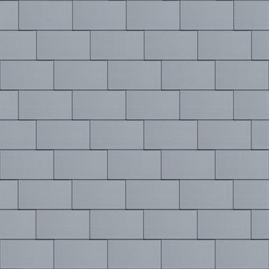 groot formaat losange dak (333 mm x 600 mm, horizontaal, prepatina blue-grey)