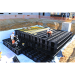 retention and infiltration basin azbox