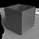 bacs de fleurissement cube