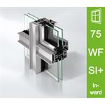 Schüco Window AWS 75 WF.SI+, Inward opening