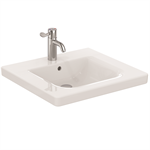 EDIT ASSIST BASIN 60X55 WHITE 1TH