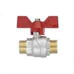 Ball valve  TOP Male - Male 24x19 with butterfly handle