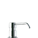 729012  liquid soap dispenser - curved spout - 1l