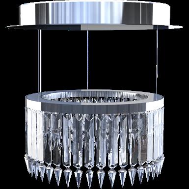 lady crinoline classique lustre 1 module