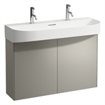 SONAR 975mm Vanity unit, 2 doors, matching washbasin 810347