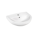 Small bathroom sink Nordic3  410050 - for bult/bracket mounting 50 cm