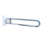 cavere chrome suspendable lift-up support vario, suspendable, l = 850, with base plate