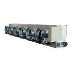Motorized plenum Daikin standard 6 dampers