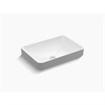 k-5373-0 vox® rectangle vessel bathroom sink