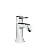 Metris Classic Single lever basin mixer 100 with pop-up waste set 31075000