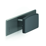 Cavere Backrest 825x200x150 invisible connection via mounting plate