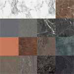 resopal collection stones and materials 1 - high pressure laminate (hpl) and compact laminate