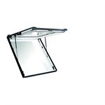 roto top-hung emergency escape roof window designo r8 pvc