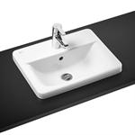 concept cube 50cm countertop washbasin 1 taphole