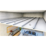 STUD Continuous suspended ceiling MS90-600-ST12,5-BR-CR3