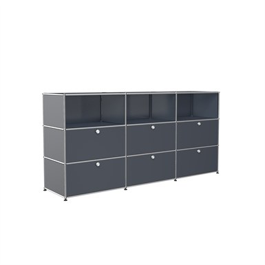 sideboard with open shelves, customisable