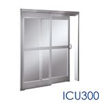 manual sliding door, icu 300/1200 showcase