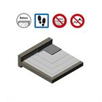 systèmes pour toitures accessibles parking avec protection en béton armé