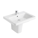 Street Square Washbasin 550x450 mm.