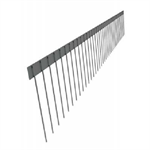 stainless steel spikes for solar panels, solar-v2a, 1-row 150mm