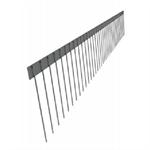 edelstahlspikes für solaranlagen, solar v2a, 1-reihig 150mm länge