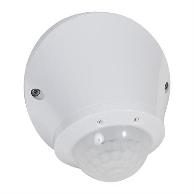 360° motion sensor - IP 55 - 8 m - surface-mounting - PIR technology