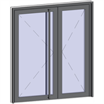 grand trafic doors - double outward opening