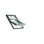 roto centre-pivot roof window designo r4 pvc tronic