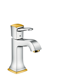 Metropol Classic Single lever basin mixer 110 with lever handle and pop-up waste set 31300090