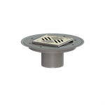 kessel-variofix upper section 47902 cover slotted in st. steel, system 100