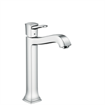 Metropol Classic Single lever basin mixer 260 with lever handle for washbowls with pop-up waste set 31303000