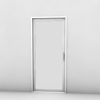single pocket door