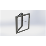 Generic Side Hung Window with SECO N 24 25