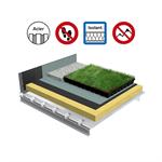 systèmes pour toiture terrasse végétalisée isolation bac acier perforé