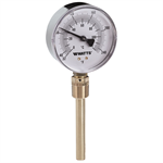 Bottom-Entry Bimetal Thermometer - TBR