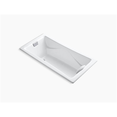 """tea-for-two® 72"""" x 36"""" drop-in bath with reversible drain"""