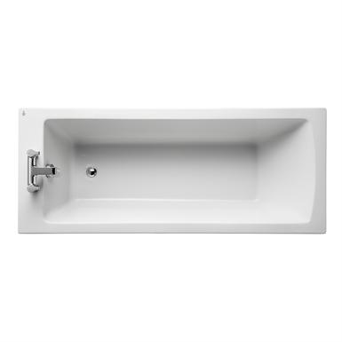 tempo arc idealform bath 170x70cm no handgrips 2 tapholes
