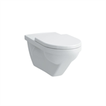 MODERNA R Wall-hung WC 'liberty', washdown, without flushing rim, barrier-free