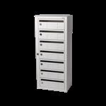 Kompakt 270 7 compartments E 25 mm mail slot