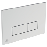 oleas p2 flush plate dual white - is