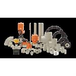 progef standard pneumatic ball valves
