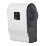 green'up premium single phase plastic charging terminal for electric vehicle - mode 3 - 3.7kw to 4.6kw - 1 port - 16a to 20a