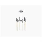 components™ six-light led chandelier