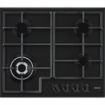 Zanussi Gas Hob 60 Black