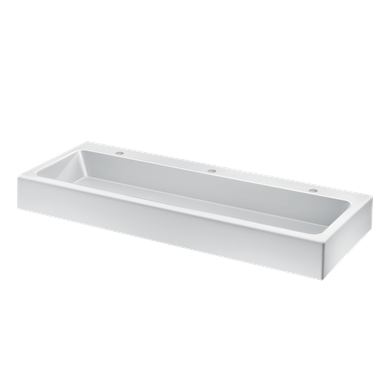 453140  Wall-mounted MINERALCAST wash trough