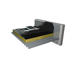 waterproofing system for flat roofs with photovoltaic cells