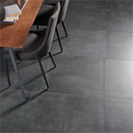 Collection Boreal colour Black Floor Tiles