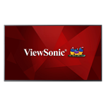 ViewSonic® CDE6510 4K Ultra HD commercial display