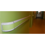 starline pvc sheated - handrail with pvc band