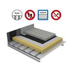 systèmes pour toitures terrasses inaccessibles protection dure isolation sur bac acier plein